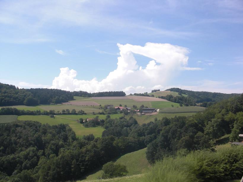 Blick von der Mössner-Terasse